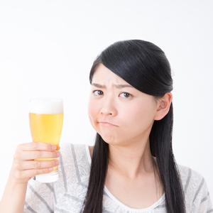 飲酒とお肌の関係